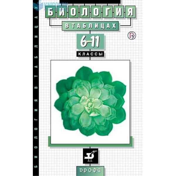 Биология в таблицах. 6-11 классы. Справочное пособие. 19-е издание, стереотипное