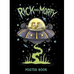 RickAndMorty(Эксмо) Постер-бук (9 шт.) [978-5-04-116965-7]