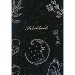 "SketchBook(Полином) Блокнот д/зарисовок ""Sketchbook black"" [20л.;170х200;мет.гребень;жест.подл;офсет 100гр/м2] (2937/1175246)"