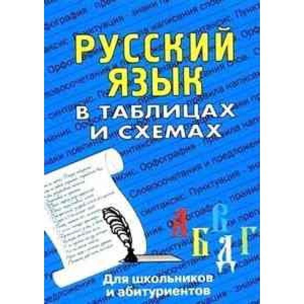 Русский язык в таблицах и схемах. Для школьников и абитуриентов