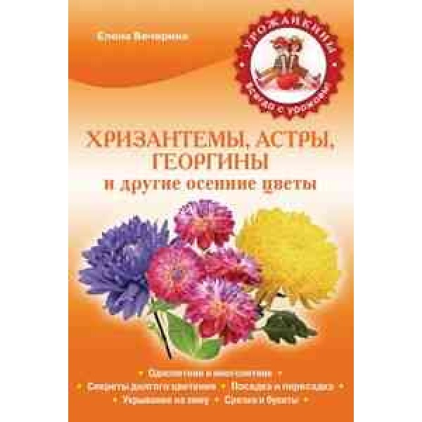 Хризантемы, астры, георгины и другие осенние цветы (обл)(Вечерина)