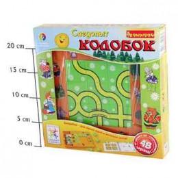 Логическая игра Bondibon Следопыт, Колобок арт. SG RU 001