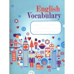 English Vocabulary. Словарь для записей