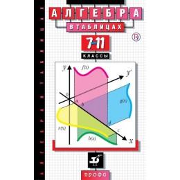 Алгебра в таблицах. 7-11 классы / Справочное пособие. 23-е издание, стереотипное