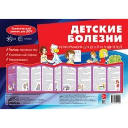 Детские болезни. Ширмочки. Информация для детей и родителей