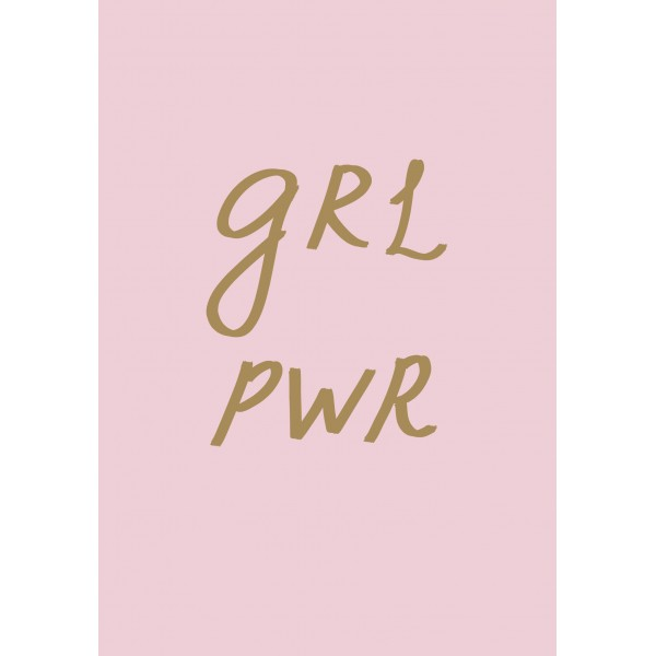 Блокнот. Girl Power (формат А5, тонированный блок, лента-ляссе)