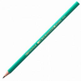 Карандаш чернографитный BIC, 1 шт., Evolution, HB, без резинки, пластиковый, корпус зеленый, заточенный, 8803112