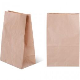 Крафт пакет бумажный 18х12х29 см, плотность 70 г/м2, 606864