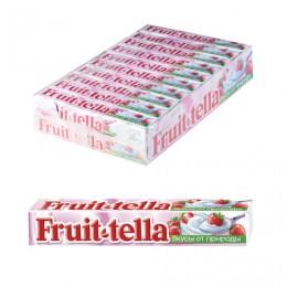 Жевательная конфета FRUITTELLA (Фруттелла) Клубничный йогурт, 41 г, 86785