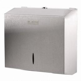 Диспенсер для полотенец LAIMA PROFESSIONAL INOX, (Система H3), V (ZZ), нержавеющая сталь, матовый, 605696