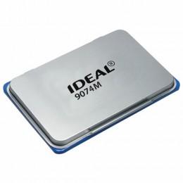 Штемпельная подушка TRODAT IDEAL (160*90 мм), металлическая, синяя, 9074Мс, 153127