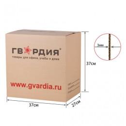 Гофроящик с логотипом, длина 370 х ширина 270 х высота 370 мм, марка Т22, профиль В, ГВАРДИЯ, 440139