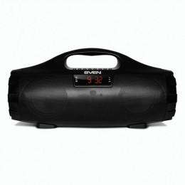 Колонка портативная SVEN PS-460, 1.0, 18 Вт, Bluetooth, FM-тюнер, USB, microUSB, черная, SV-015237