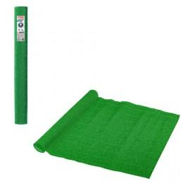Бумага гофрированная (ИТАЛИЯ) 140г/м, зеленая (963), 50х250см, BRAUBERG FLORE, 112578