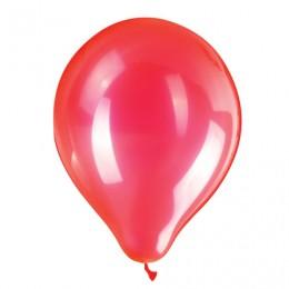 Шары воздушные ZIPPY (ЗИППИ) 10 (25 см), комплект 50 шт., неоновые красные, в пакете, 104183