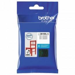 Картридж струйный BROTHER (LC3619XLC) для MFC-J3530DW/J3930DW, голубой, оригин/, ресурс 1500 стр