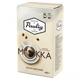Кофе молотый PAULIG (Паулиг) Mokka, натуральный, 450 г, вакуумная упаковка, 16674