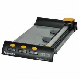 Резак роликовый NEUTRON PLUS A4 10 листов, длина реза 320мм, металлическая основа FELLOWES, FS-54101