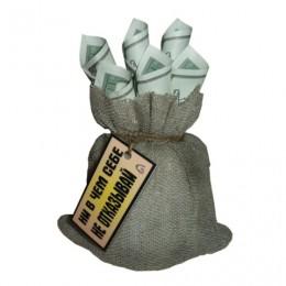 Сувенир мешочек с деньгами №2