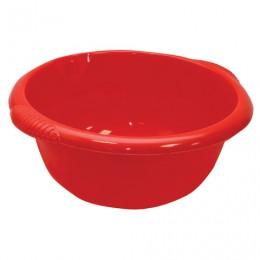 Таз 16 л, хозяйственный, круглый, с ручками, пластиковый, 18х45х49 см, цвет красный, IDEA, М 2507