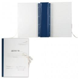 Папка архивная для переплета Форма 21, А4 (320х228 мм), 70 мм, с гребешками, 4 отверстия, завязки, 127133