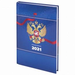 Ежедневник датированный 2021 (145х215мм), А5, STAFF, ламинированная обложка, Дизайн 7, 111822