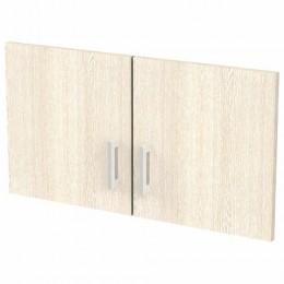 Дверь ЛДСП низкая Арго, КОМПЛЕКТ 2 шт., 355х18х390 мм, ясень шимо, А-603