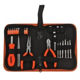 Набор слесарно-монтажный, 25 предметов, SPARTA, длинногубцы, бокорез, отвертки, биты/головки, пинцет, 13534
