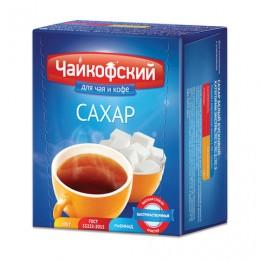 Сахар-рафинад Чайкофский, 0,5 кг (98 кусочков, 15х16х21 мм), высший сорт по ГОСТу, картонная упаковка