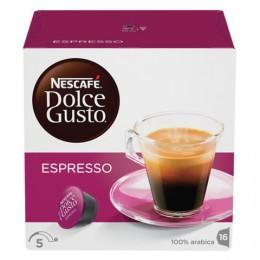 Капсулы для кофемашин NESCAFE Dolce Gusto Espresso, натуральный кофе 16 шт. х 6 г, 5219839
