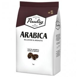 Кофе в зернах PAULIG (Паулиг) Arabica, натуральный, 1000 г, вакуумная упаковка, 16282/16316