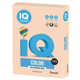 Бумага IQ color, А4, 160 г/м2, 250 л., пастель, темно-кремовая, SA24