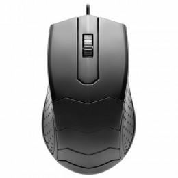 Мышь проводная DEFENDER HIT MB-530, USB, 2 кнопки+1 колесо-кнопка, оптическая, черная, 52530