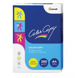 Бумага COLOR COPY, А4, 250 г/м2, 125 л., для полноцветной лазерной печати, А++, Австрия, 161% (CIE), А4-34792