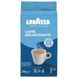 Кофе молотый LAVAZZA Caffe Decaffeinato, без кофеина, 250 г, вакуумная упаковка, 1000