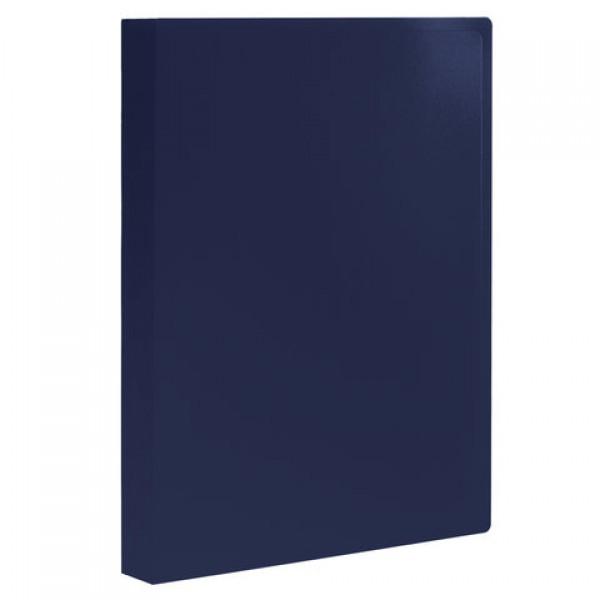 Папка 100 вкладышей STAFF, синяя, 0,7 мм, 225712