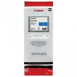 Картридж струйный CANON (PFI-320C) для imagePROGRAF TM-200/205/300/305, голубой, 300мл, ориг, 2891C001