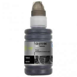 Чернила CACTUS (CS-GT51BK) для СНПЧ HP DeskJet GT 5810/5820, черные, 0,1 л