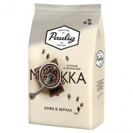 Кофе в зернах PAULIG (Паулиг) Mokka, натуральный, 1000 г, вакуумная упаковка, 16669