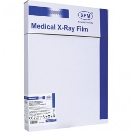 Рентгеновская пленка синечувствительная, SFM X-Ray BF, КОМПЛЕКТ 100 л., 30х40 см., ш/, 629039