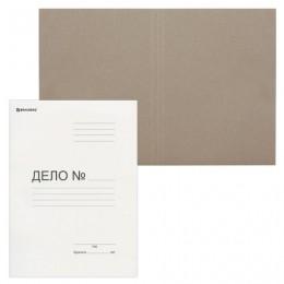 Папка без скоросшивателя Дело, картон. плотность 280 г/м2, до 200 листов, BRAUBERG, 122293