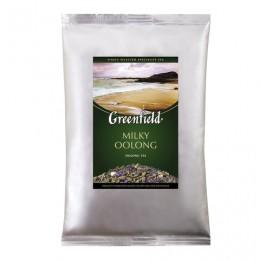 Чай GREENFIELD (Гринфилд) Milky Oolong, улун, листовой, 250 г, пакет, 0980-15