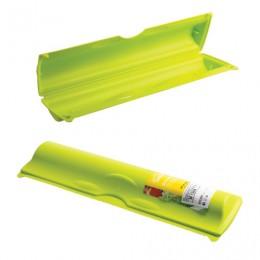 Футляр для фольги и пленки отрывной зажим, 5х9х34 см, цвет салатовый, IDEA, М 1204