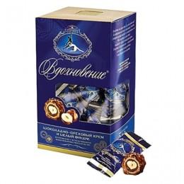 Конфеты шоколадные КРАСНЫЙ ОКТЯБРЬ Вдохновение, с цельным фундуком, 240 г, КО09763