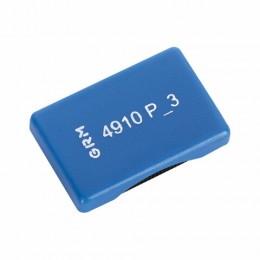 Подушка сменная 26х9 мм, для TRODAT 4910, 4810, 4810 BANK, синяя, GRM 4910-РЗ, 171000014