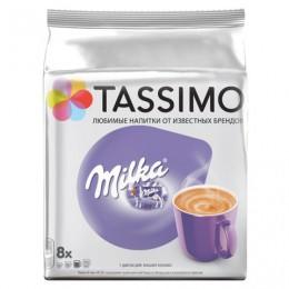 Капсулы для кофемашин TASSIMO Milka, какао капсулы 8 шт. х 8 г, молочные капсулы 8 шт. х 38 г