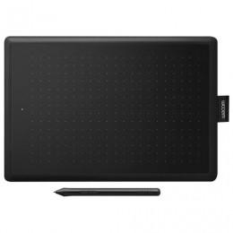 Планшет графический WACOM One medium CTL-672-N, 2540 LPI, 2048 уровней, (А5)216x135, USB, черный
