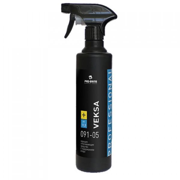 Чистящее средство 500 мл, PRO-BRITE VEKSA, против плесени, отбеливающее, концентрат, распылитель, 091-05