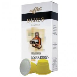 Капсулы для кофемашин NESPRESSO, Амаретто, натуральный кофе, BLUES, 10 шт. х 5 г, 4600696101010