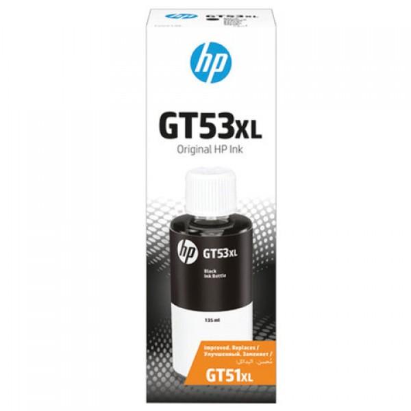 Чернила HP GT53XL (1VV21AE) для InkTank 315/410/415, SmartTank 500/515/615, черные, ресурс 6000 страниц, оригинальные